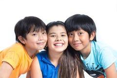 Asian cute kids happy smile Stock Photo