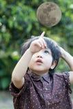 Asian cute little boy Stock Photo
