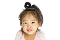 Asian cute little girl Stock Images