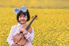 Asian cute little girl Stock Photo