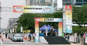 Asian Cycling Championship 2012 at Putrajaya Royalty Free Stock Images