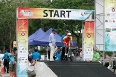 Asian Cycling Championship 2012 at Putrajaya Stock Photography