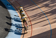 Asian Cycling Championships 2012, Malaysia team Royalty Free Stock Image
