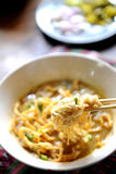 Asian da sopa de macarronete foto de stock