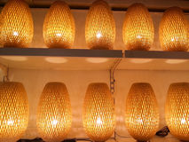Asian decoration lamps Stock Photography