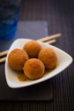Asian deep-fried balls Stock Photography