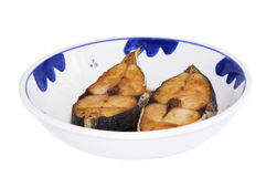 Asian deep fried fish slice Stock Photography