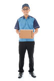 Asian delivery person Stock Photos