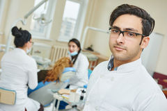Asian dentist doctor Royalty Free Stock Image
