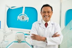 Asian dentist Royalty Free Stock Image