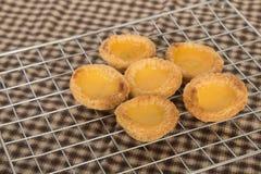 asian dessert egg tarts Stock Photos