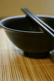 Asian Dining Set - Chopsticks and Bowl. Oriental Dining set, more in my gallery Royalty Free Stock Image