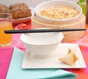 Asian dinner Royalty Free Stock Photography