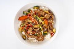 Asian dinner Stock Images