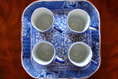 Asian Dinnerware Set Stock Photo
