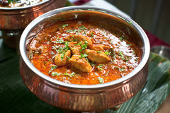 Asian Dish Curry Fish Royalty Free Stock Image