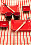 Asian dishware Royalty Free Stock Photos