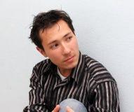 Asian do homem novo Imagem de Stock Royalty Free