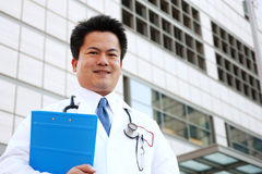 Asian doctor Royalty Free Stock Images