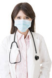 Asian doctor with protective mask Stock Images