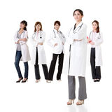 Asian doctor team Stock Photo