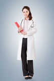 Asian doctor woman Royalty Free Stock Photo