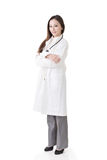 Asian doctor woman Stock Photo