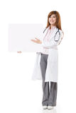 Asian doctor woman Royalty Free Stock Photos