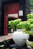 Asian doorway Stock Photography