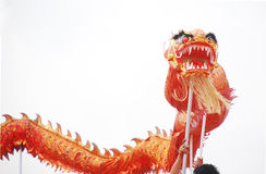 Asian dragon dance Royalty Free Stock Image