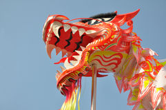 Asian dragon dance. Decoration during spring festival Royalty Free Stock Photo