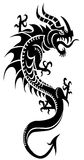 Asian dragon Japan clipart Royalty Free Stock Photos