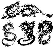 Asian Dragons Royalty Free Stock Photography