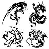 Asian Dragons Stock Photos