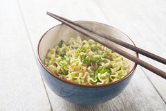 Asian dried ramen noodles Royalty Free Stock Image