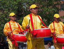 Asian Drummers Stock Photography