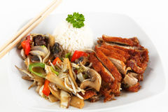Asian duck meat Stock Images