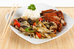Asian duck meat Royalty Free Stock Images