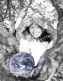 asian earth girl young Στοκ Εικόνες