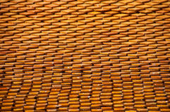 Asian earthenware roof Stock Images