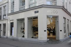 Asian ecco shoe brand customers Stock Images