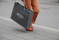 ASIAN ECCO SHOPPERS Royalty Free Stock Photography