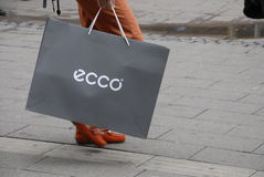 ASIAN ECCO SHOPPERS Royalty Free Stock Photo