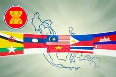 ASIAN Economic Community Royalty Free Stock Image