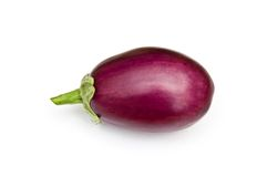 Asian egg plant Royalty Free Stock Image
