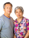 Asian elderly couple Royalty Free Stock Photography