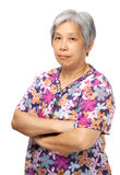 Asian elderly Stock Image