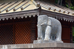 Asian elephant sculpture Royalty Free Stock Image