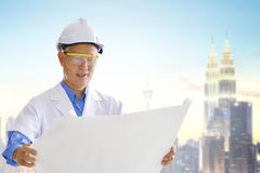 Asian engineer Stock Images
