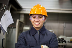 Asian engineer Stock Image